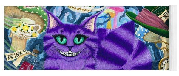 Cheshire Cat - Alice In Wonderland Yoga Mat