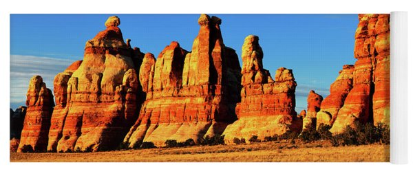Chesler Park In The Needles Yoga Mat