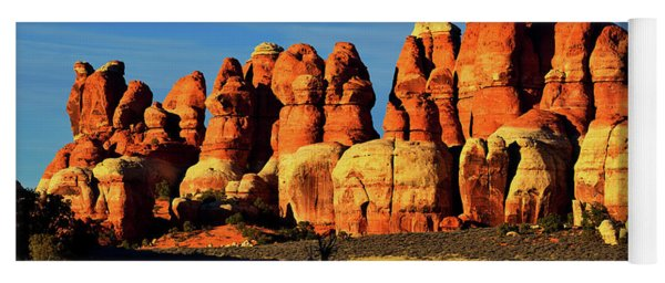 Chesler Park Sandstone Towers Yoga Mat