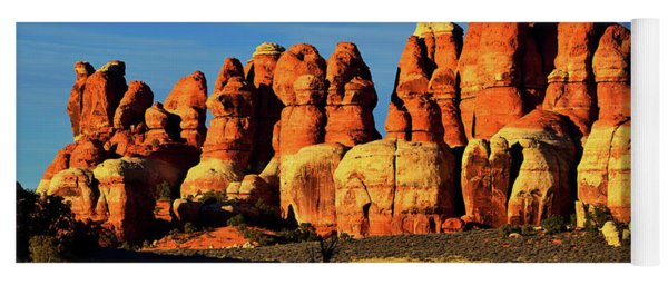 Chesler Park Sandstone Towers Yoga Mat