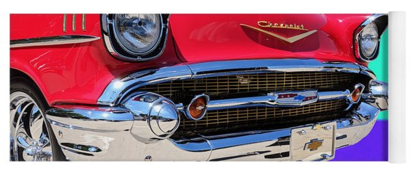 Chevrolet Bel Air Color Pop Yoga Mat