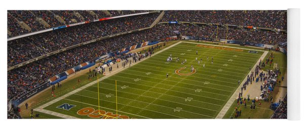 Chicago Bears Soldier Field 7795 Yoga Mat
