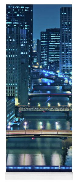 Chicago Bridges Yoga Mat