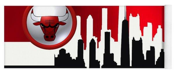 Chicago Bulls Yoga Mat
