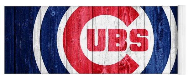 Chicago Cubs Barn Door Yoga Mat