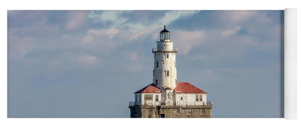 Chicago Harbor Lighthouse Yoga Mat