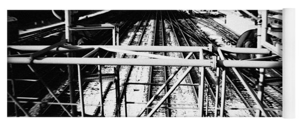 Chicago Railroad Yard Yoga Mat
