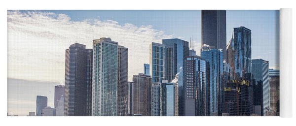 Chicago Skyline Yoga Mat