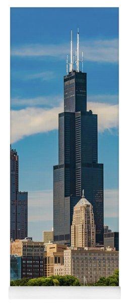 Chicago Skyline Yoga Mat