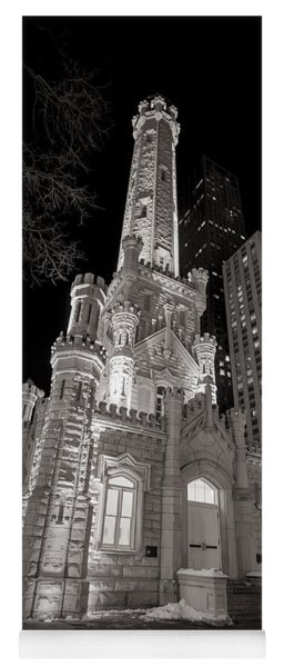 Chicago Water Tower Yoga Mat