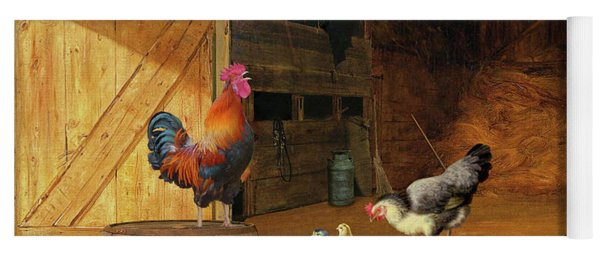 Chickens Yoga Mat