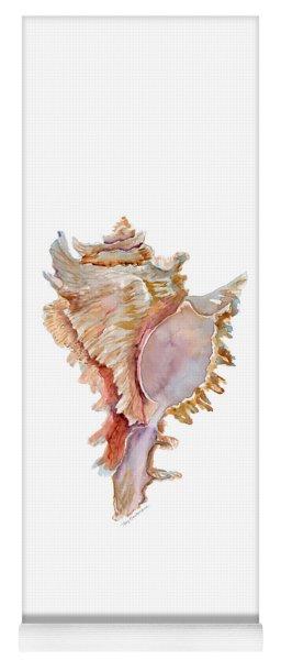 Chicoreus Ramosus Shell Yoga Mat