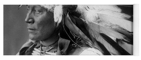 Chief Hollow Horn Bear Yoga Mat