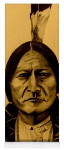 Chief Sitting Bull  Tatanka Iyotake Yoga Mat