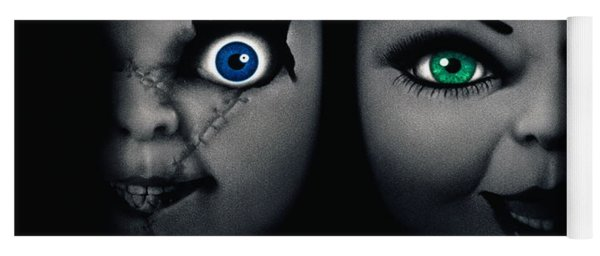 Childs Play 4 Bride Of Chucky 1998 Yoga Mat