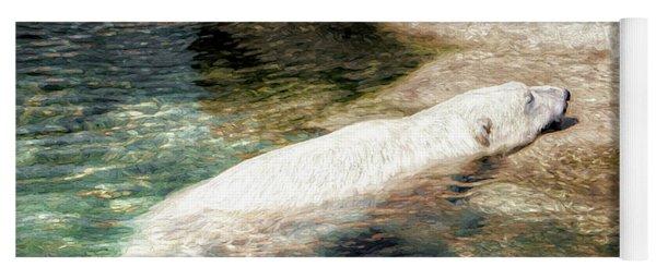 Chillin' Polar Bear Yoga Mat