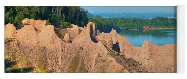 Chimney Bluffs 1750 Yoga Mat