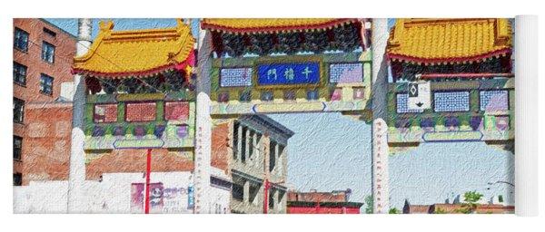 Chinatown's Millenium Gate Digital Wc Yoga Mat