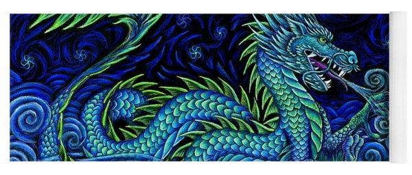 Chinese Azure Dragon Yoga Mat