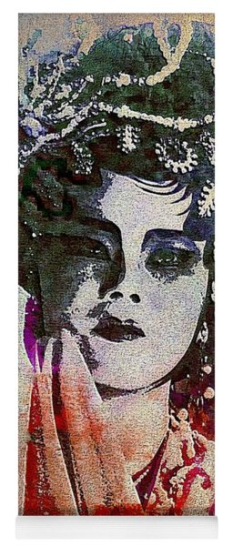Chinese Opera - Graffiti Portrait Yoga Mat