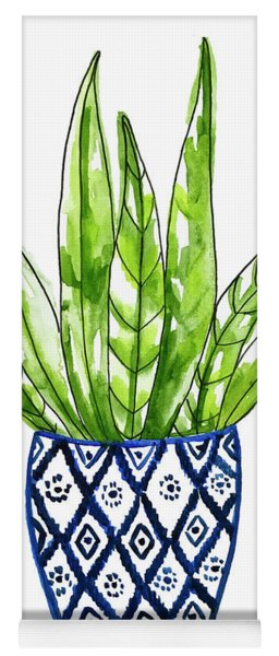 Chinoiserie Cactus No2 Yoga Mat
