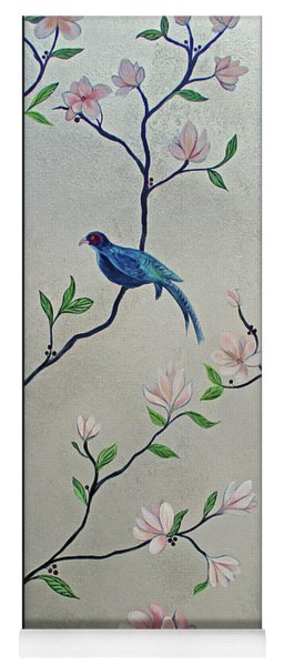 Chinoiserie - Magnolias And Birds #4 Yoga Mat