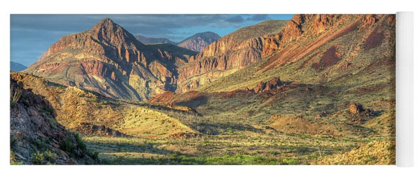 Chisos Mountains Of West Texas Yoga Mat