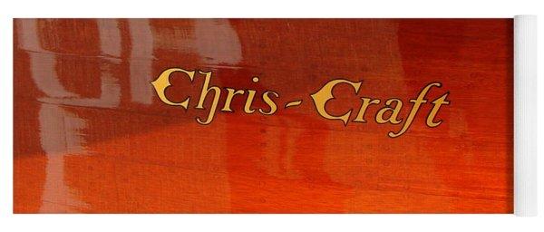 Chris Craft Logo Yoga Mat
