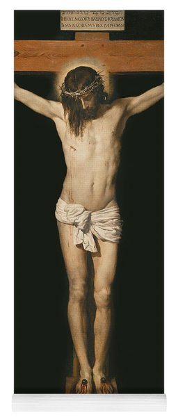 Christ On The Cross Yoga Mat