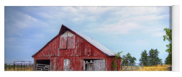 Christian School Road Barn Yoga Mat