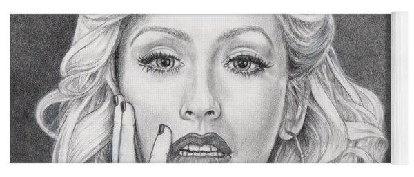 Christina Aguilera Yoga Mat