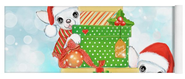 Christmas Chi Elves Yoga Mat