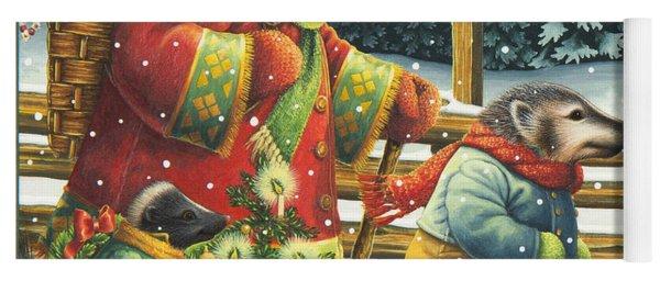 Christmas Journey Yoga Mat