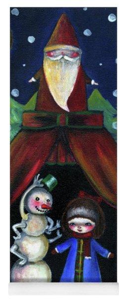 Christmas Night Yoga Mat