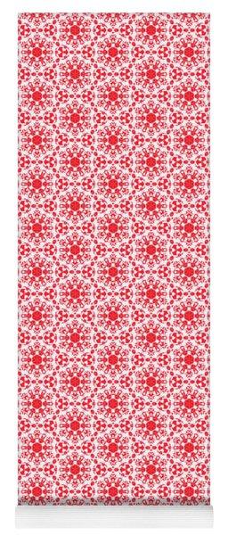 Christmas Snow Flakes Pattern 2 Yoga Mat