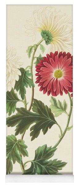 Chrysanthemums Yoga Mat