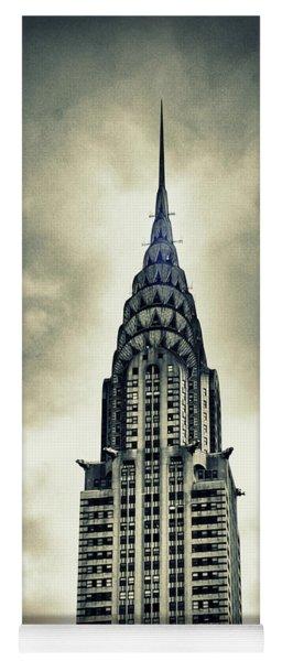 Chrysler Building Yoga Mat