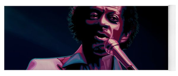 Chuck Berry Yoga Mat