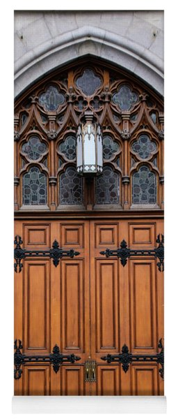 Church Doors Yoga Mat