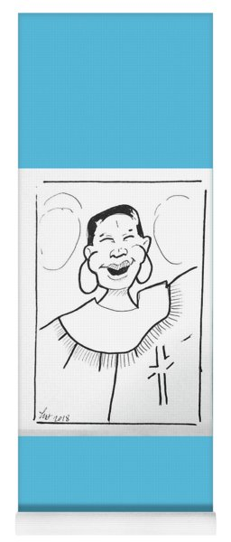 Church Lady 2 Yoga Mat