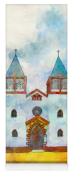Church Of The Holy Family Yoga Mat