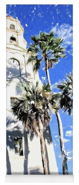 Church Palm Reflections Yoga Mat