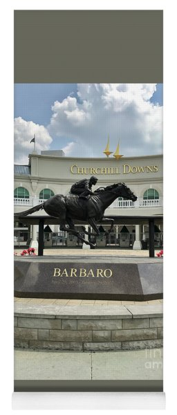 Churchill Downs Barbaro 2 Yoga Mat