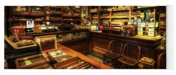 Cigar Shop Yoga Mat
