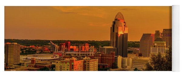 Cincinnati Golden Yoga Mat