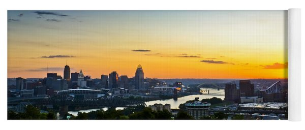 Cincinnati Sunrise II Yoga Mat