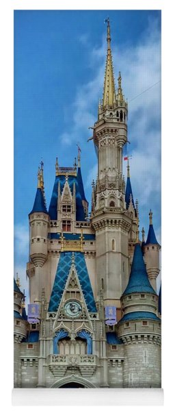 Cinderella Castle Yoga Mat