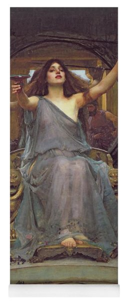 Circe Offering The Cup To Ulysses Yoga Mat