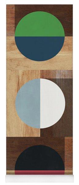 Cirkel Trio- Art By Linda Woods Yoga Mat