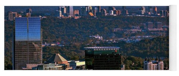 Cities Of Atlanta Yoga Mat